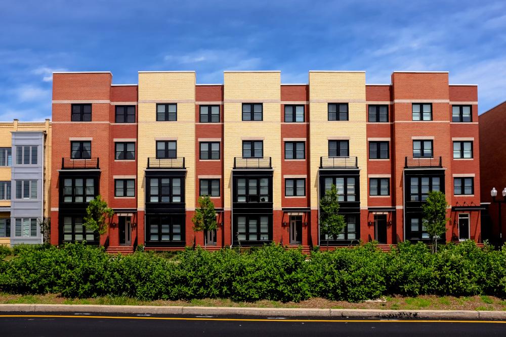 nowoczesny budynek apartamentu